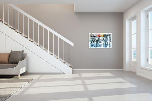 תמונה לחדר מדרגות - בן רוטמן - כשאפור, תמיד יש גם צבע - מק''ט: 274678