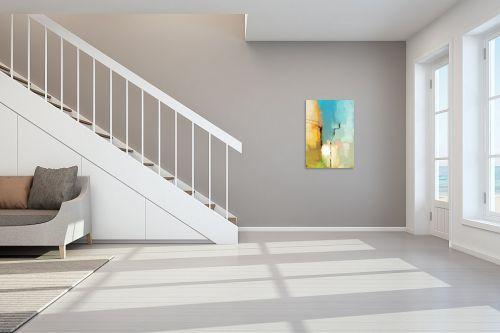 תמונה לחדר מדרגות - גורדון - השחר הפציע על העיר - מק''ט: 278007