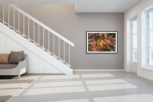 תמונה לחדר מדרגות - מיכאל שמידט - פסיפס שלכת.. - מק''ט: 278010