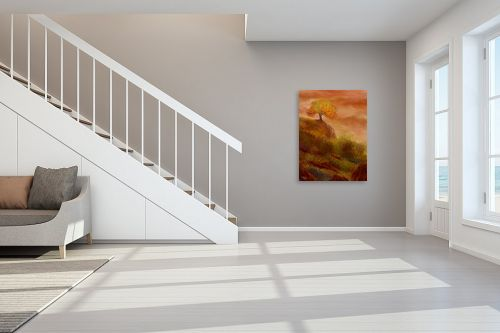 תמונה לחדר מדרגות - אורי רדלר - מחשבות סתיו - מק''ט: 279335
