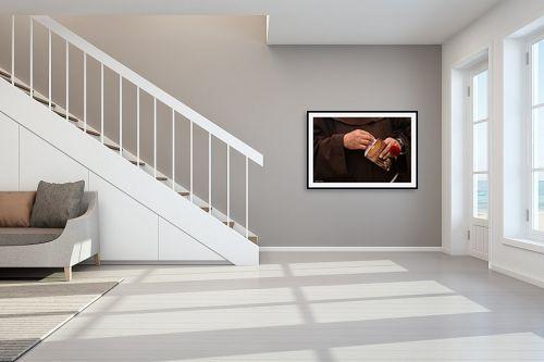תמונה לחדר מדרגות - כרמל תדמור - ידי הורד - מק''ט: 281722