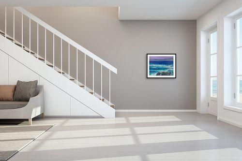 תמונה לחדר מדרגות - אסתר חן-ברזילי - גאות הים - מק''ט: 284228
