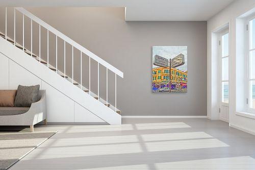 תמונה לחדר מדרגות - מתן הירש - שנקין-אלנבי - מק''ט: 285253