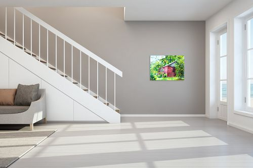 תמונה לחדר מדרגות - חיה וייט - בית בטבע - מק''ט: 285498