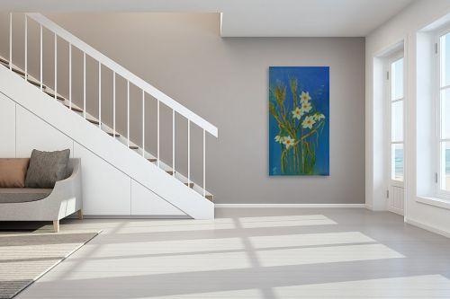 תמונה לחדר מדרגות - רינה יניב - פריחת הנרקיסים - מק''ט: 285641