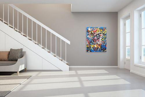 תמונה לחדר מדרגות - חיים מחט - אי בים - מק''ט: 291808