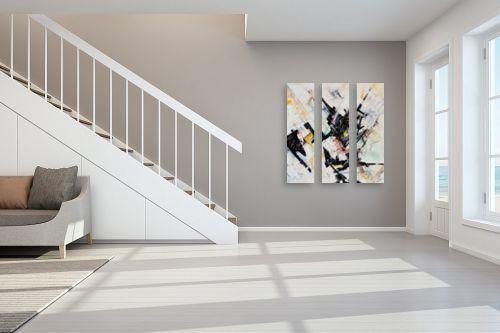 תמונה לחדר מדרגות - חיים מחט - מופשט - מק''ט: 291822