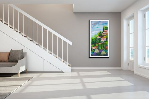 תמונה לחדר מדרגות - רוחלה פליישר - על ההר - מק''ט: 294367