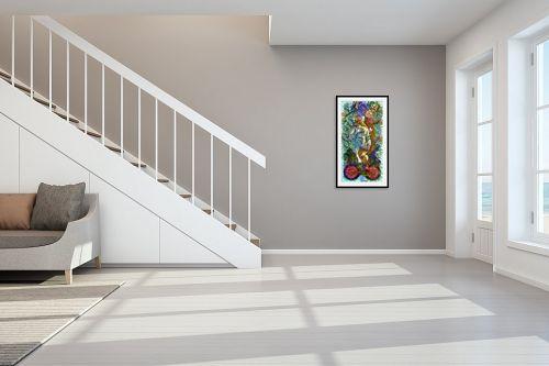 תמונה לחדר מדרגות - בן רוטמן - פארפרזה לוונוס של בוטיצלי - מק''ט: 295294
