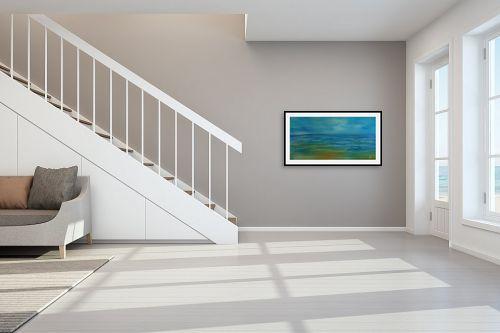 תמונה לחדר מדרגות - רינה יניב - ביום סגריר - מק''ט: 296482