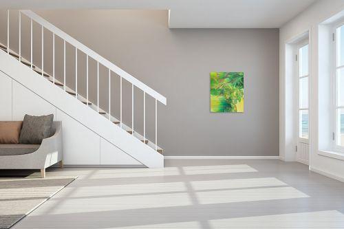 תמונה לחדר מדרגות - רינה יניב - צמחים בגינה - מק''ט: 296489