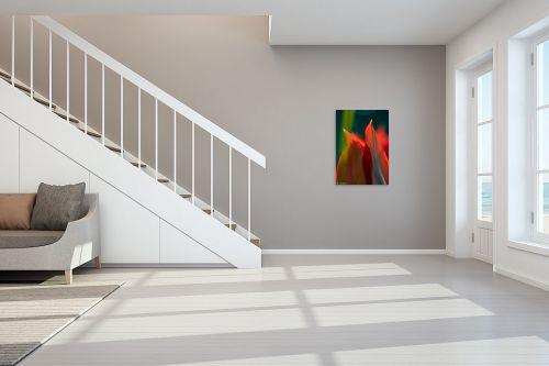 תמונה לחדר מדרגות - דורית ברקוביץ - אש בוערת - מק''ט: 298965