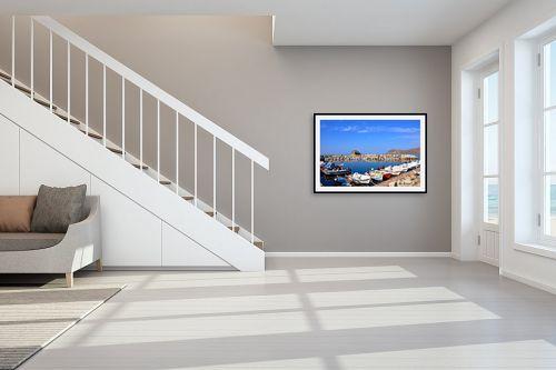 תמונה לחדר מדרגות - ענת שיוביץ - מים שקטים - מק''ט: 300615