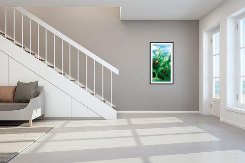 תמונה לחדר מדרגות - חנן אביסף - חיפושית פרת משה רבנו  - מק''ט: 302468