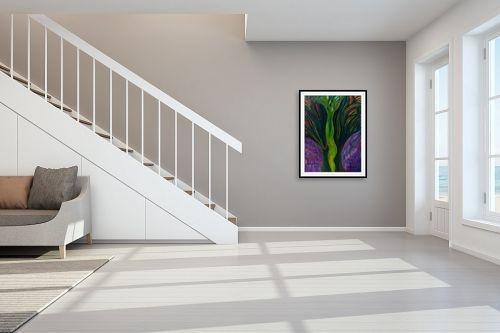 תמונה לחדר מדרגות - אסתר חן-ברזילי - התמזגות 2 - מק''ט: 306114