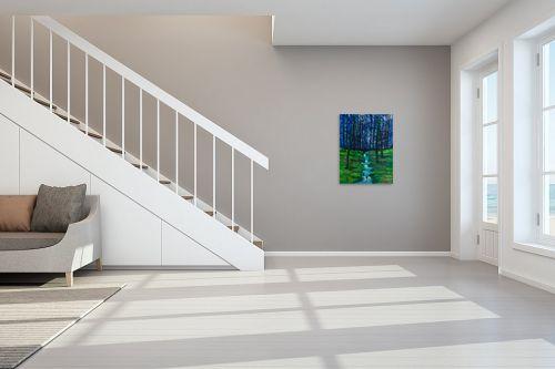 תמונה לחדר מדרגות - אסתר חן-ברזילי - חורשה - מק''ט: 306116
