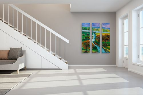 תמונה לחדר מדרגות - אסתר חן-ברזילי - מה יפית עמק נוי - מק''ט: 306119