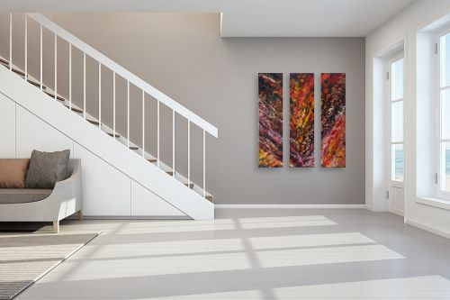 תמונה לחדר מדרגות - אסתר חן-ברזילי - לבה - מק''ט: 306155