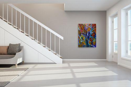 תמונה לחדר מדרגות - אסתר חן-ברזילי - עץ הדעת - מק''ט: 306211