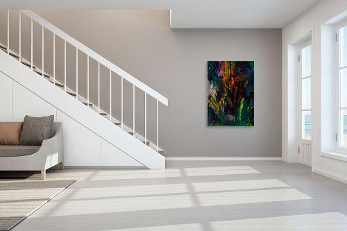 תמונה לחדר מדרגות - אסתר חן-ברזילי - פריחה  - מק''ט: 306276