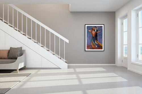 תמונה לחדר מדרגות - אסתר חן-ברזילי - טנגו - מק''ט: 306641