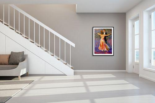 תמונה לחדר מדרגות - אסתר חן-ברזילי - וולס - מק''ט: 307288