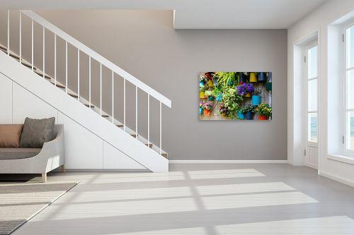 תמונה לחדר מדרגות - ויויאן נתן - עציצים - מק''ט: 309895