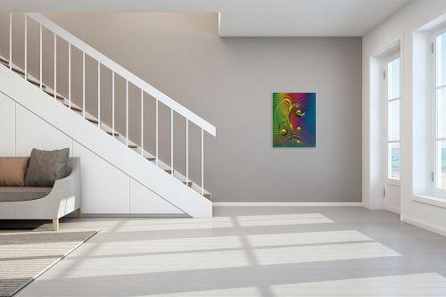 תמונה לחדר מדרגות - רעיה גרינברג - סלסול - מק''ט: 312111