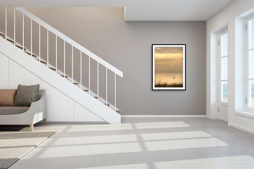 תמונה לחדר מדרגות - איזבלה אלקבץ - מפרש - מק''ט: 312201