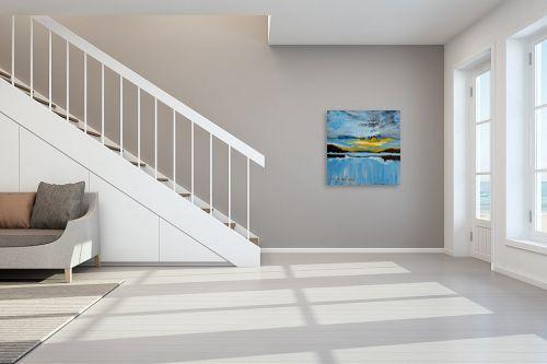 תמונה לחדר מדרגות - ורד אופיר - שקיעה - מק''ט: 313209