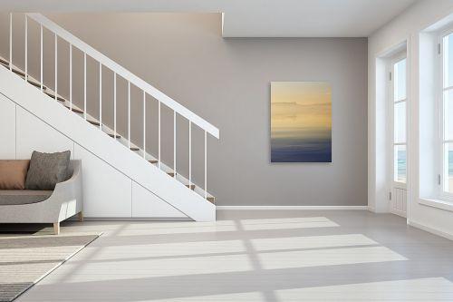 תמונה לחדר מדרגות - איה אפשטיין - מעגל במים וציפורים - מק''ט: 313241
