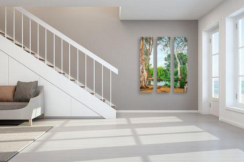 תמונה לחדר מדרגות - נריה ספיר - מקורות הירקון - מק''ט: 313491