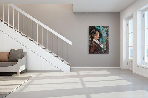 תמונה לחדר מדרגות - דיאנה אורן - אישה - מק''ט: 315901