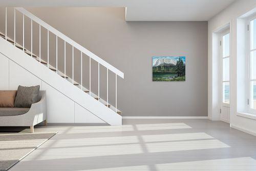 תמונה לחדר מדרגות - דיאנה אורן - אגם בצפון אמריקה - מק''ט: 316035