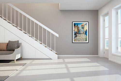 תמונה לחדר מדרגות - דיאנה אורן - ירושלים8 - מק''ט: 316073
