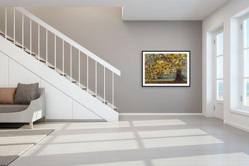 תמונה לחדר מדרגות - אסתר טל - שלכת 2 - מק''ט: 316176