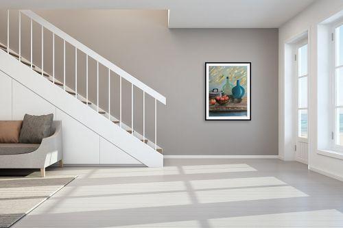 תמונה לחדר מדרגות - דיאנה אורן - בקבוקים - מק''ט: 316188