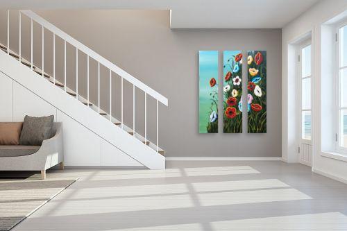 תמונה לחדר מדרגות - מזל בוכריס - כלניות - מק''ט: 316388