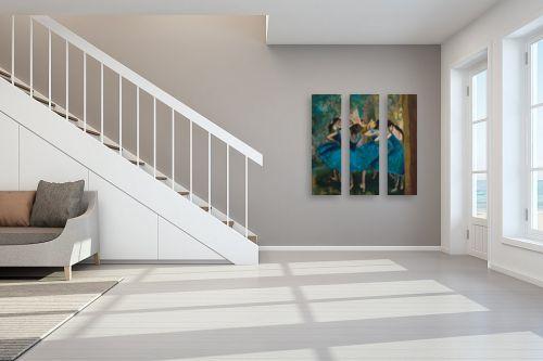 תמונה לחדר מדרגות - אסתר טל - הרקדניות של דגה - מק''ט: 316521