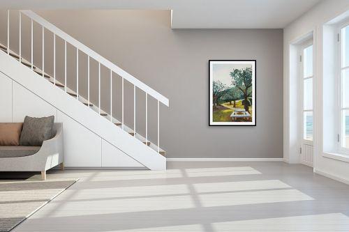 תמונה לחדר מדרגות - אסתר טל - חניוני קקל 3 - מק''ט: 316555