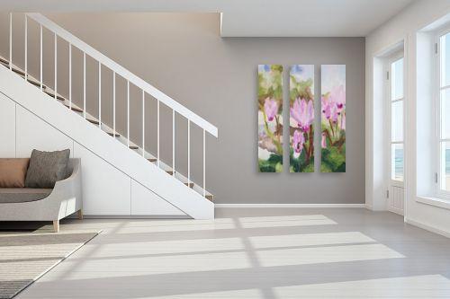 תמונה לחדר מדרגות - אסתר טל - רקפות 1 - מק''ט: 316559