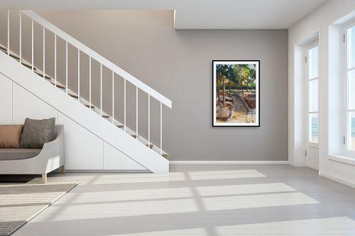 תמונה לחדר מדרגות - אסתר טל - חניוני קקל 6 - מק''ט: 316597