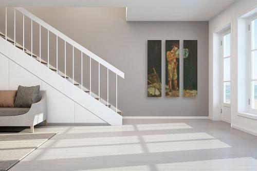 תמונה לחדר מדרגות - אסתר טל - ארכיאולוג - מק''ט: 316649