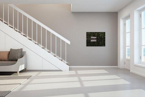 תמונה לחדר מדרגות - אלעד דרור - בקתה באגם - מק''ט: 316722