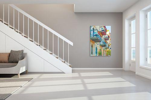תמונה לחדר מדרגות - ציפי ניומן - ירושלים 2 - מק''ט: 316931