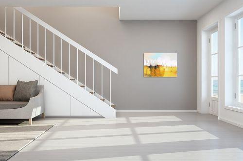 תמונה לחדר מדרגות - גורדון - שדה צהוב - מק''ט: 318670