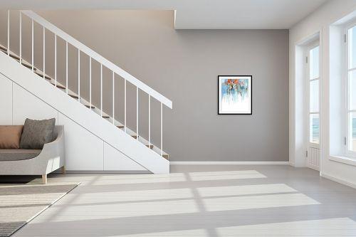 תמונה לחדר מדרגות - גורדון - אהבה זה יער - מק''ט: 318672