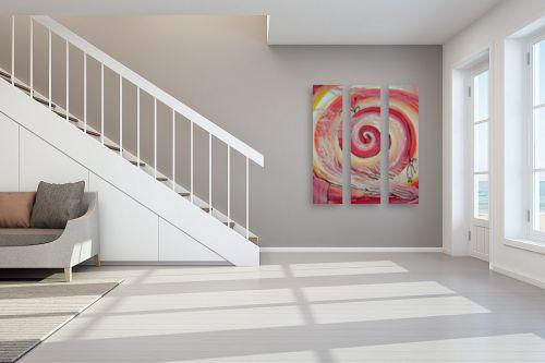 תמונה לחדר מדרגות - אילה ארויו - מערבולת רגשות - מק''ט: 318732