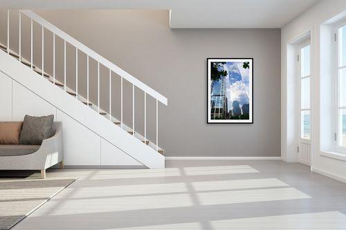 תמונה לחדר מדרגות - אלי נגר - ניו-יורק שמים - מק''ט: 318987