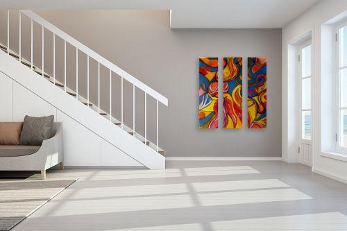 תמונה לחדר מדרגות - אסתר חן-ברזילי - התחדשות - מק''ט: 319088